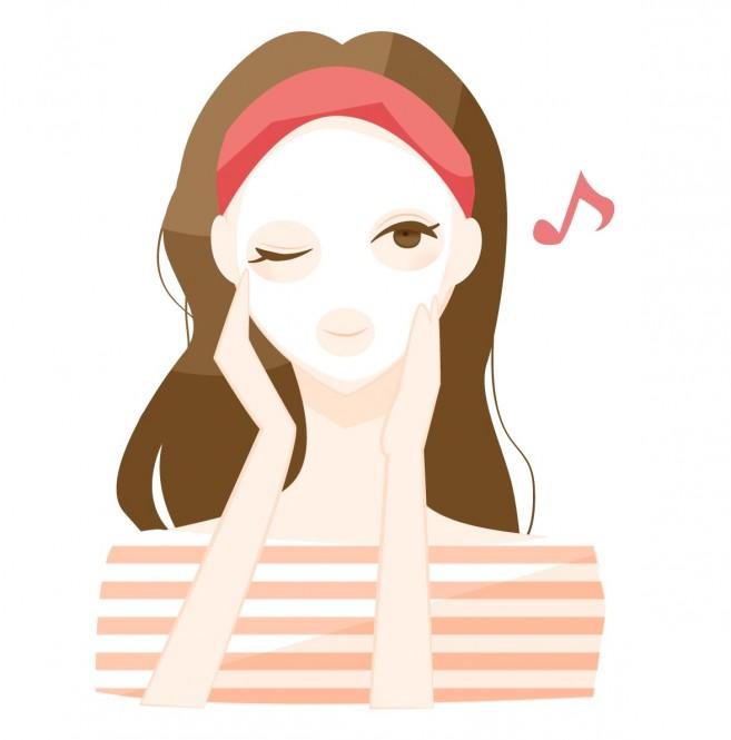 【フェイスマスクの効果的な使い方】貼る美容液、フェイスマスク